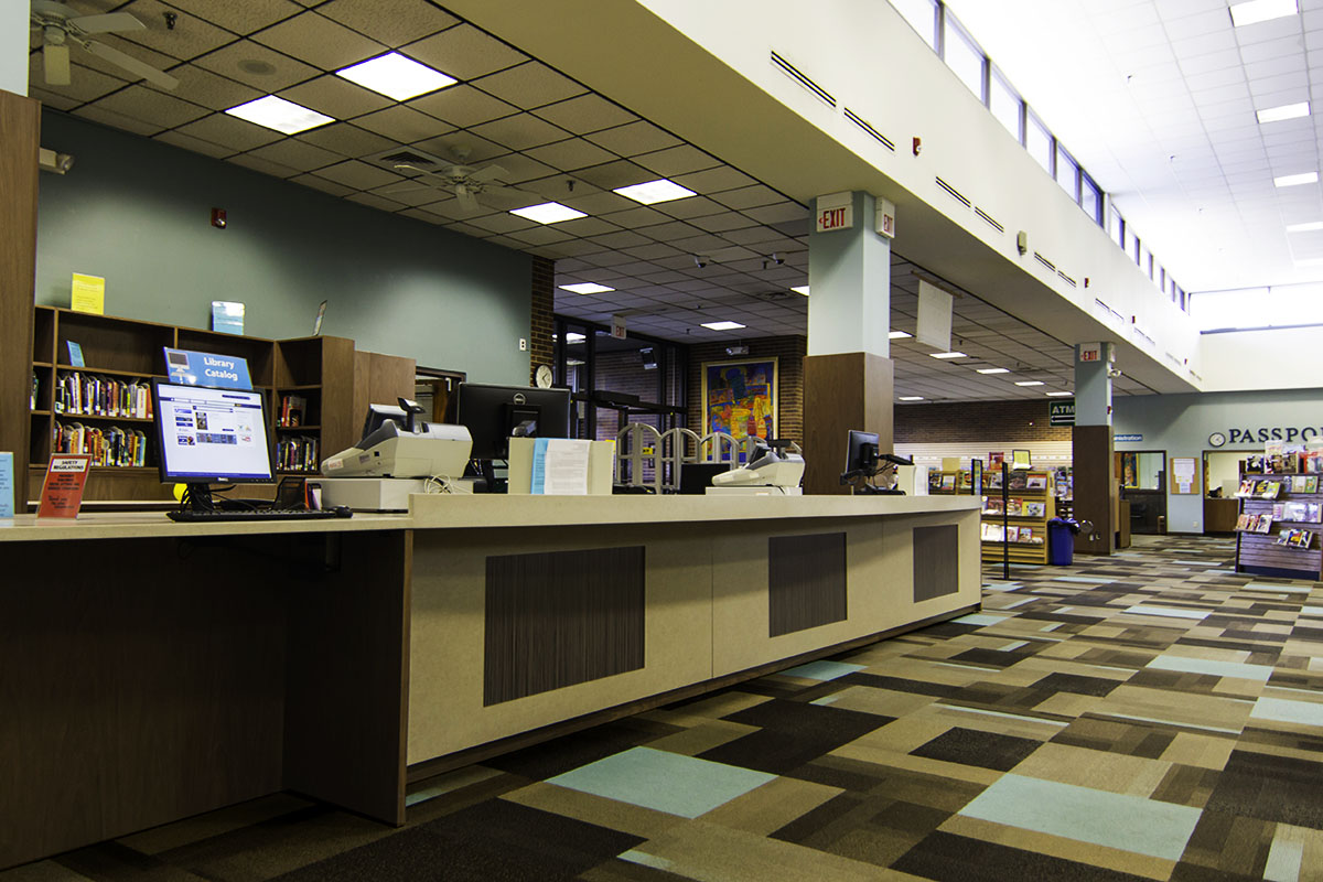 East Brunswick Public Library Floor, Direct Flooring