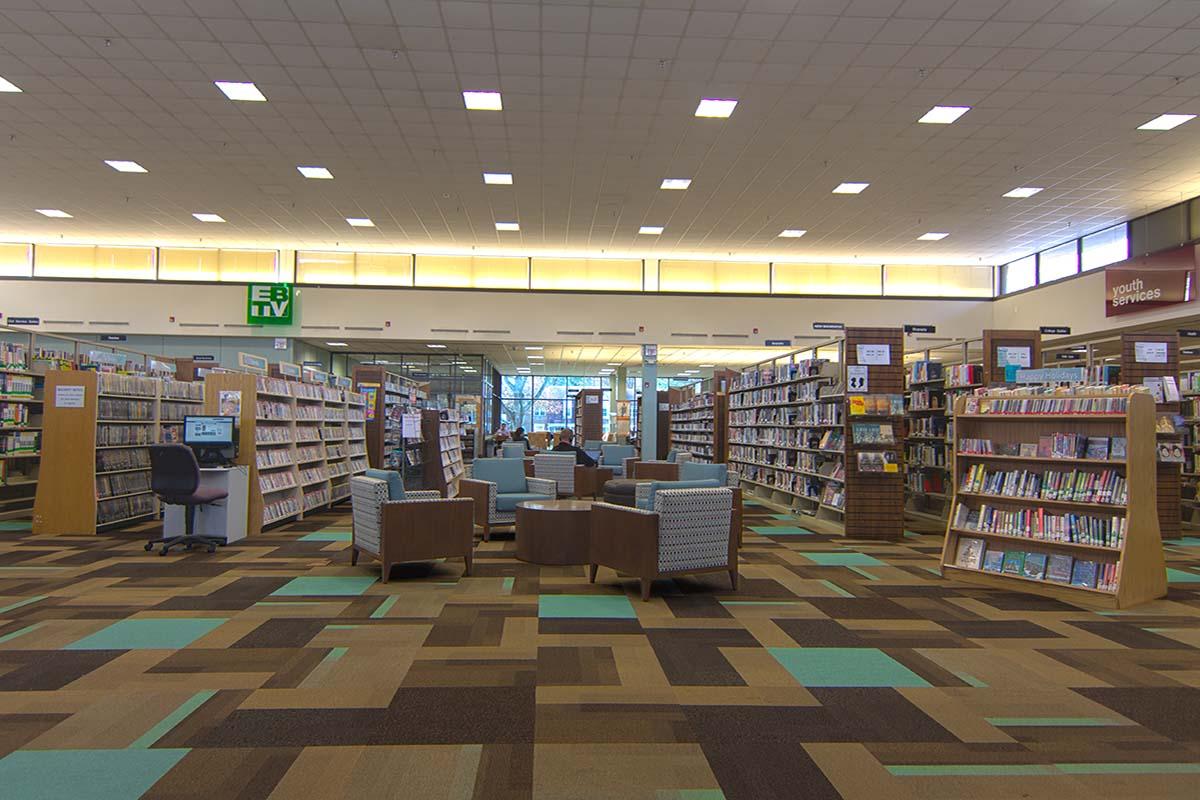 East Brunswick Public Library Floor, Direct Flooring