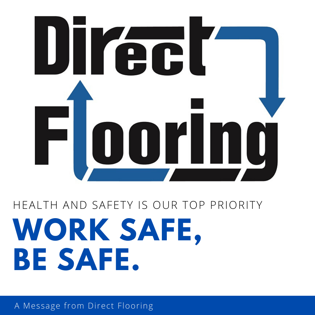 health and saefty is a top priority at Direct Flooring